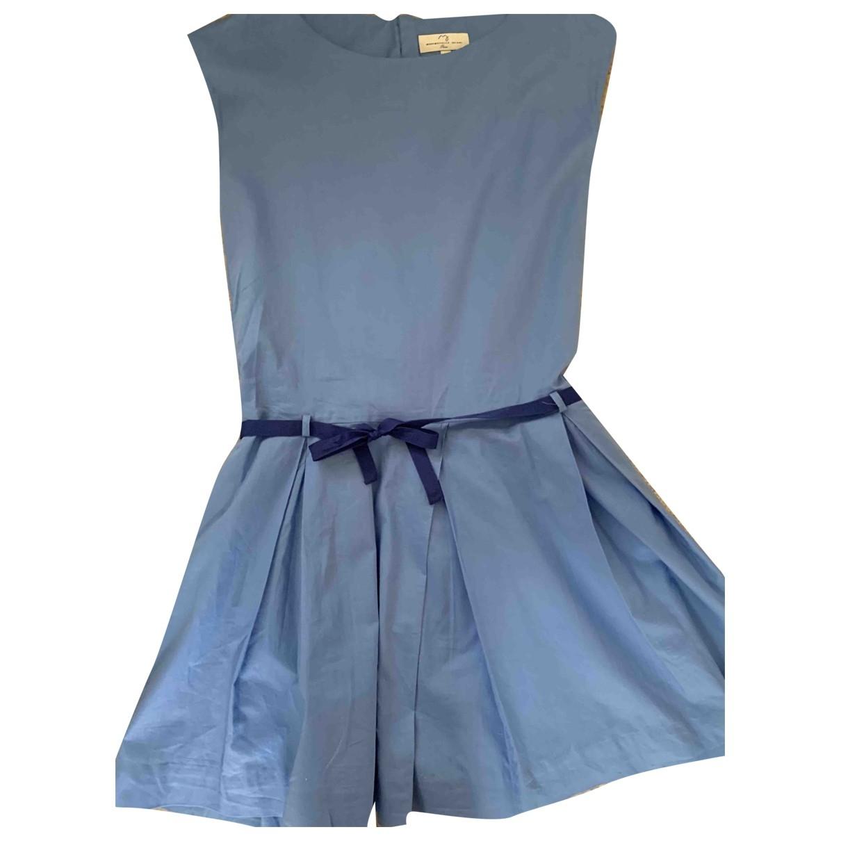 Jacadi \N Blue Cotton dress for Kids 16 years - M FR
