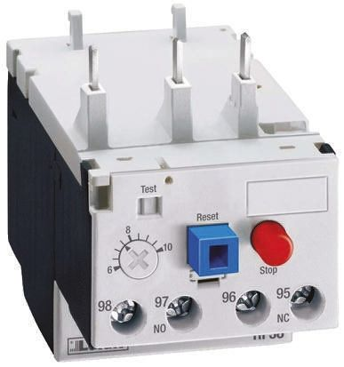 Lovato Thermal Overload Relay -, 20 → 25 A F.L.C, 25 A Contact Rating, 3P