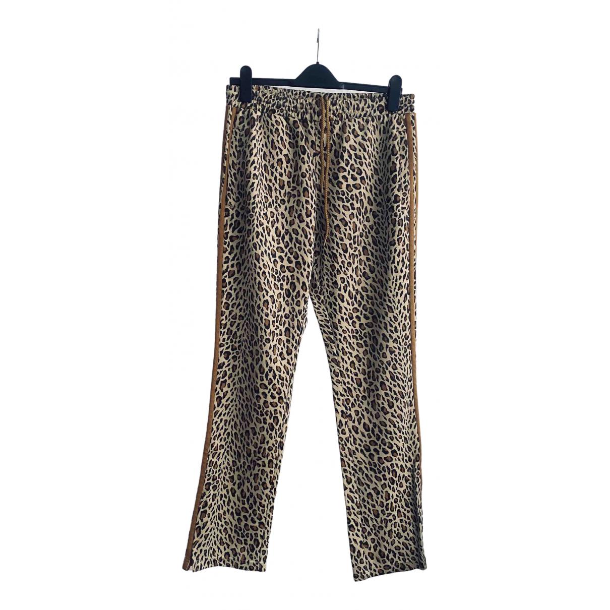 Jeremy Scott Pour Adidas \N Blue Trousers for Men M International