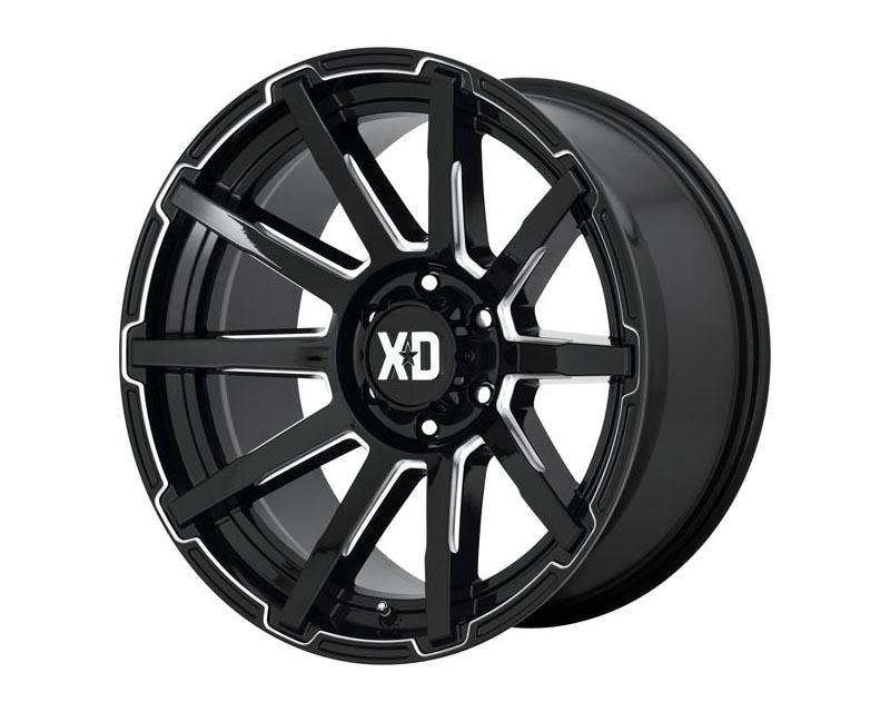 XD Series XD84729068318 Outbreak Wheel 20x9 6X5.5 18mm Gloss Black Milled