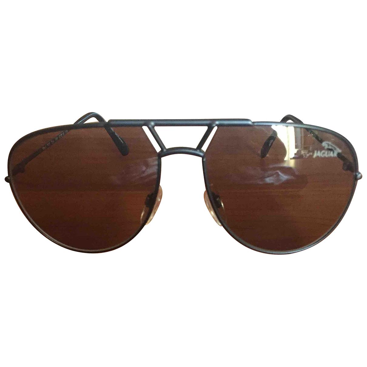 Autre Marque N Black Metal Sunglasses for Men N