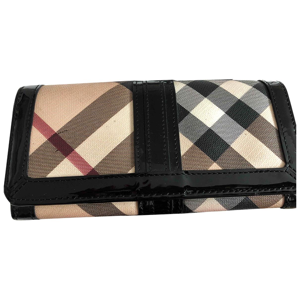 Burberry - Portefeuille   pour femme en toile - multicolore