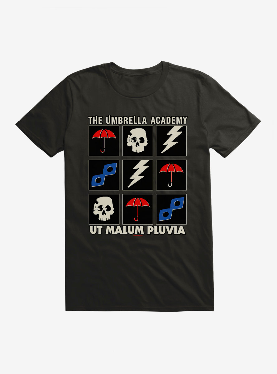 The Umbrella Academy Icons T-Shirt