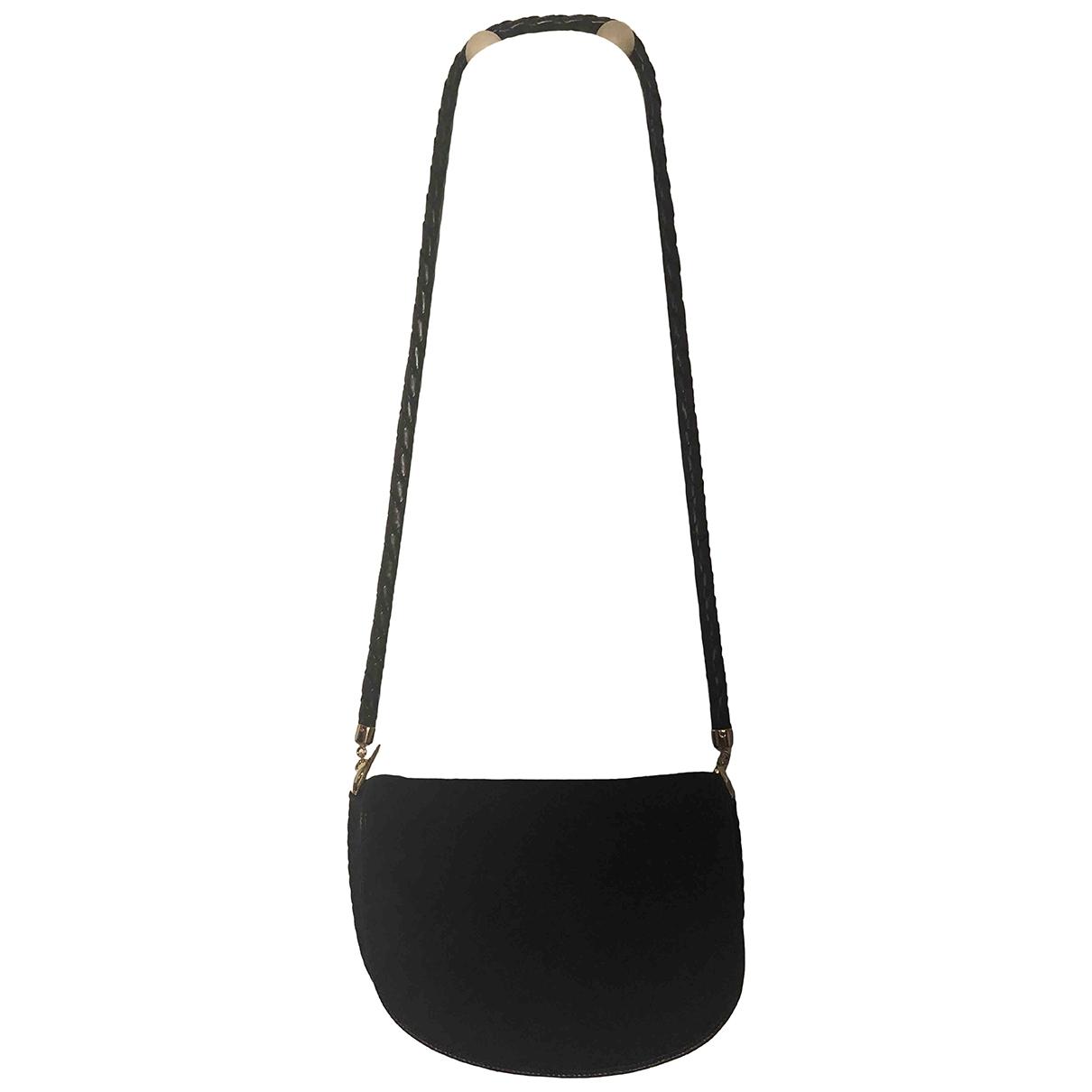 Bottega Veneta \N Black Suede handbag for Women \N