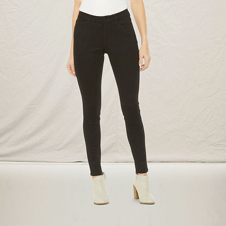 a.n.a. Womens Jegging, 4 , Black