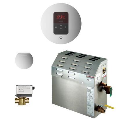 225C1ATRDPC 7.5kW Steam Bath Generator with iTempo AutoFlush Round Package in Polished