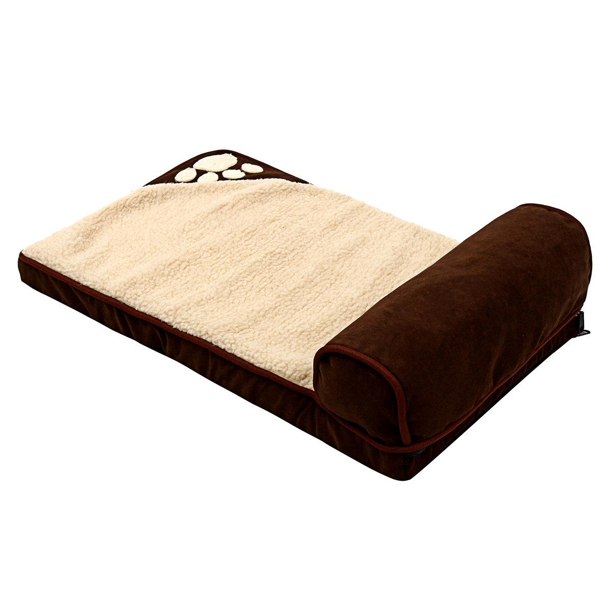 Extra Large Jumbo Orthopedic Sponge Pet Dog Bed Dog Baskets Winter Warm Kennel