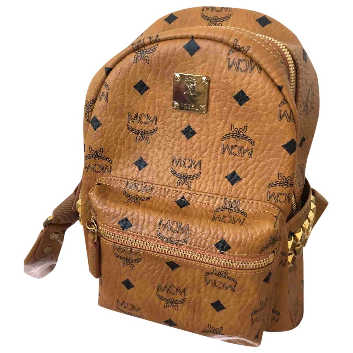 Mcm Stark Leather backpack for Women \N