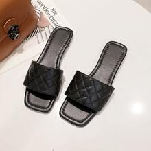 Quilted Wide Fit Sliders