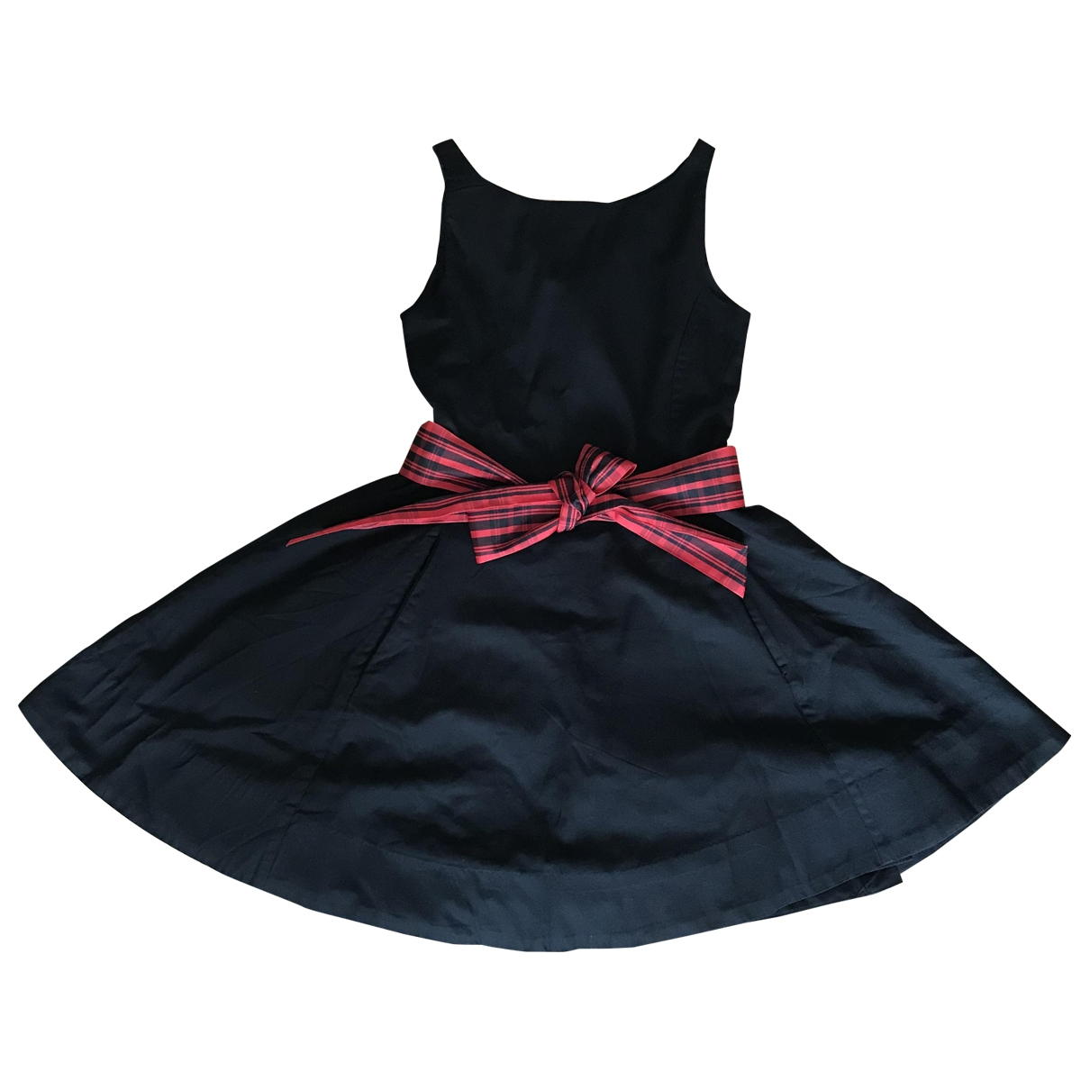 Polo Ralph Lauren - Robe    pour enfant en coton - noir