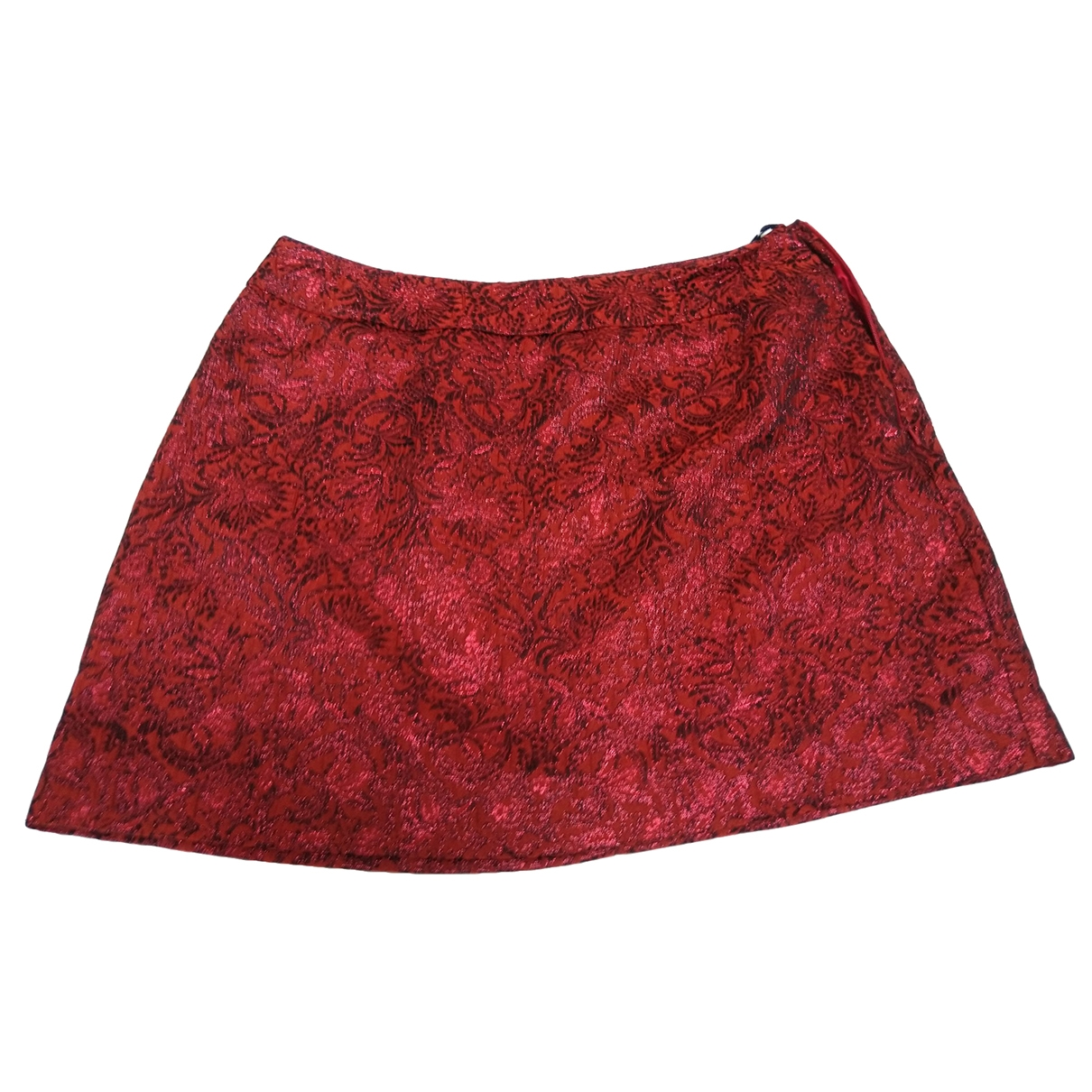 Karen Millen \N Rocke in  Rot Polyester