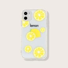 iPhone Schutzhuelle mit Zitrone Muster