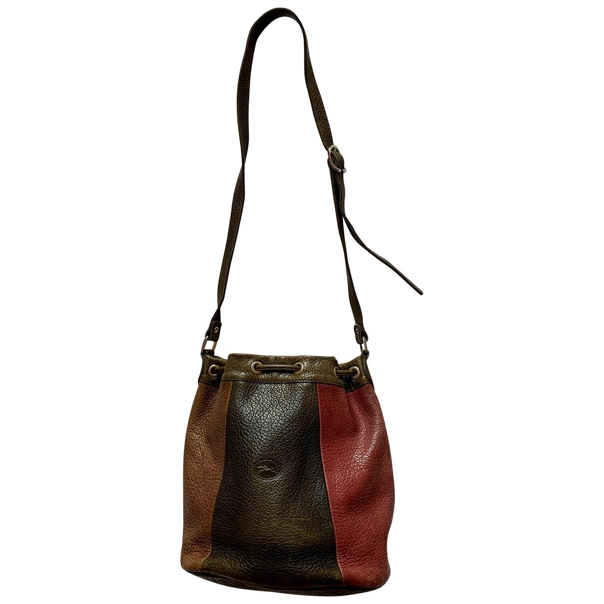 Longchamp - Sac a main   pour femme en cuir