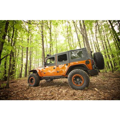 Rugged Ridge All Terrain Flat Flare and Fender Liner Kit (Paintable) - 11620.11