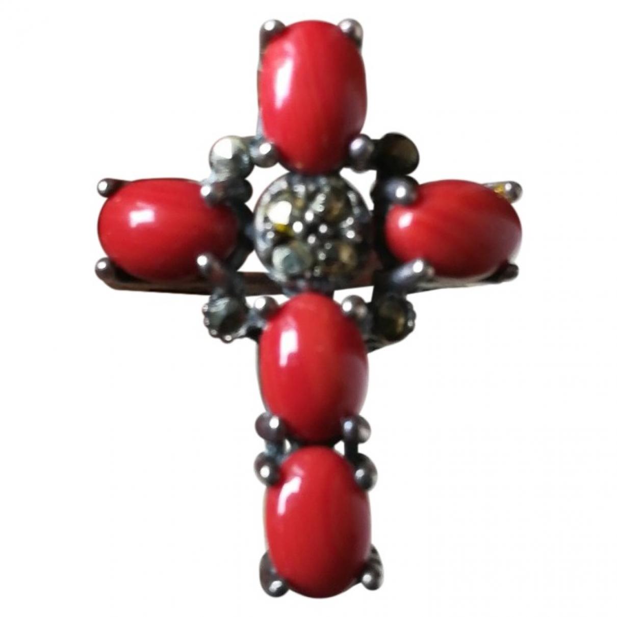 - Bague Croix pour femme en argent - argente