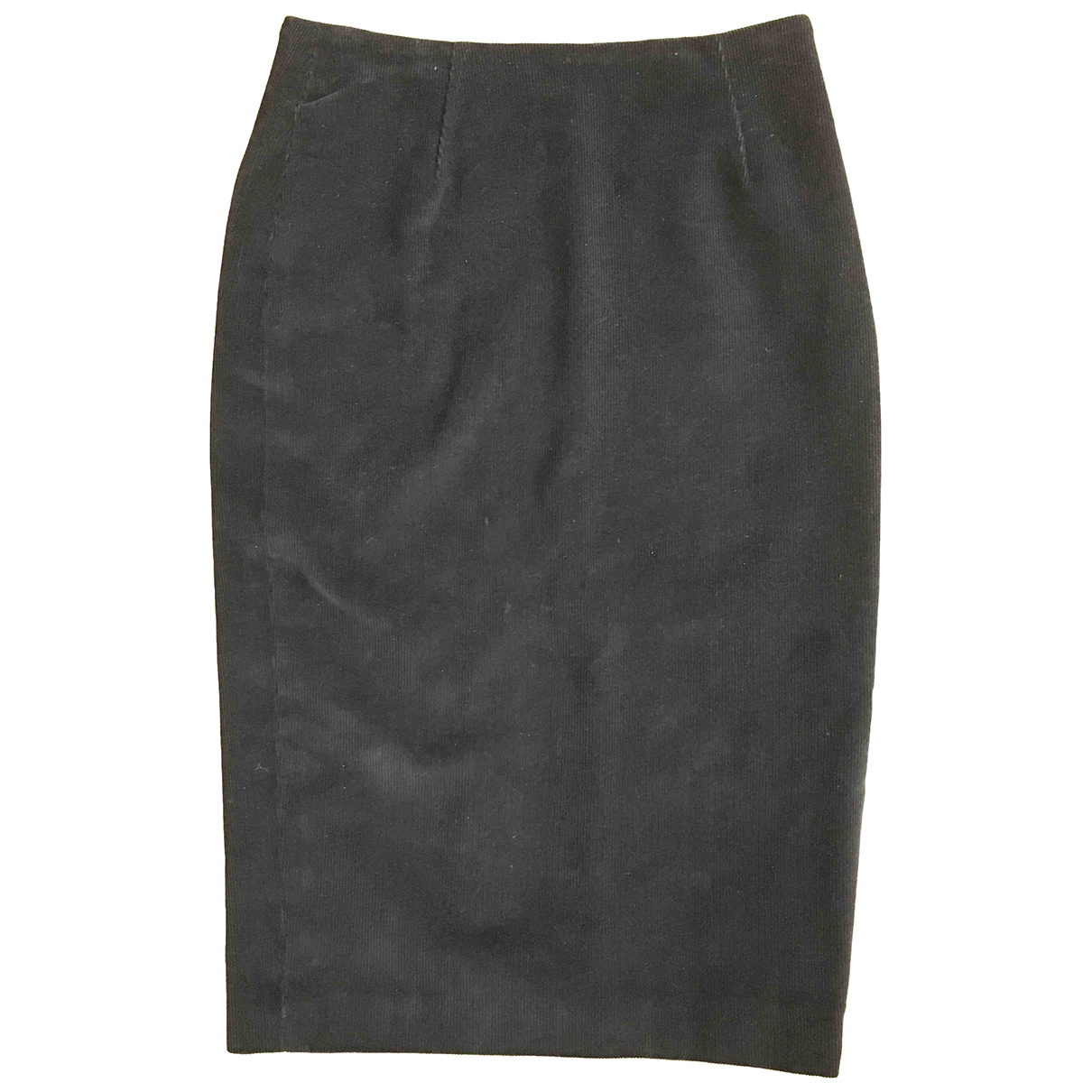 - Jupe   pour femme en coton - noir
