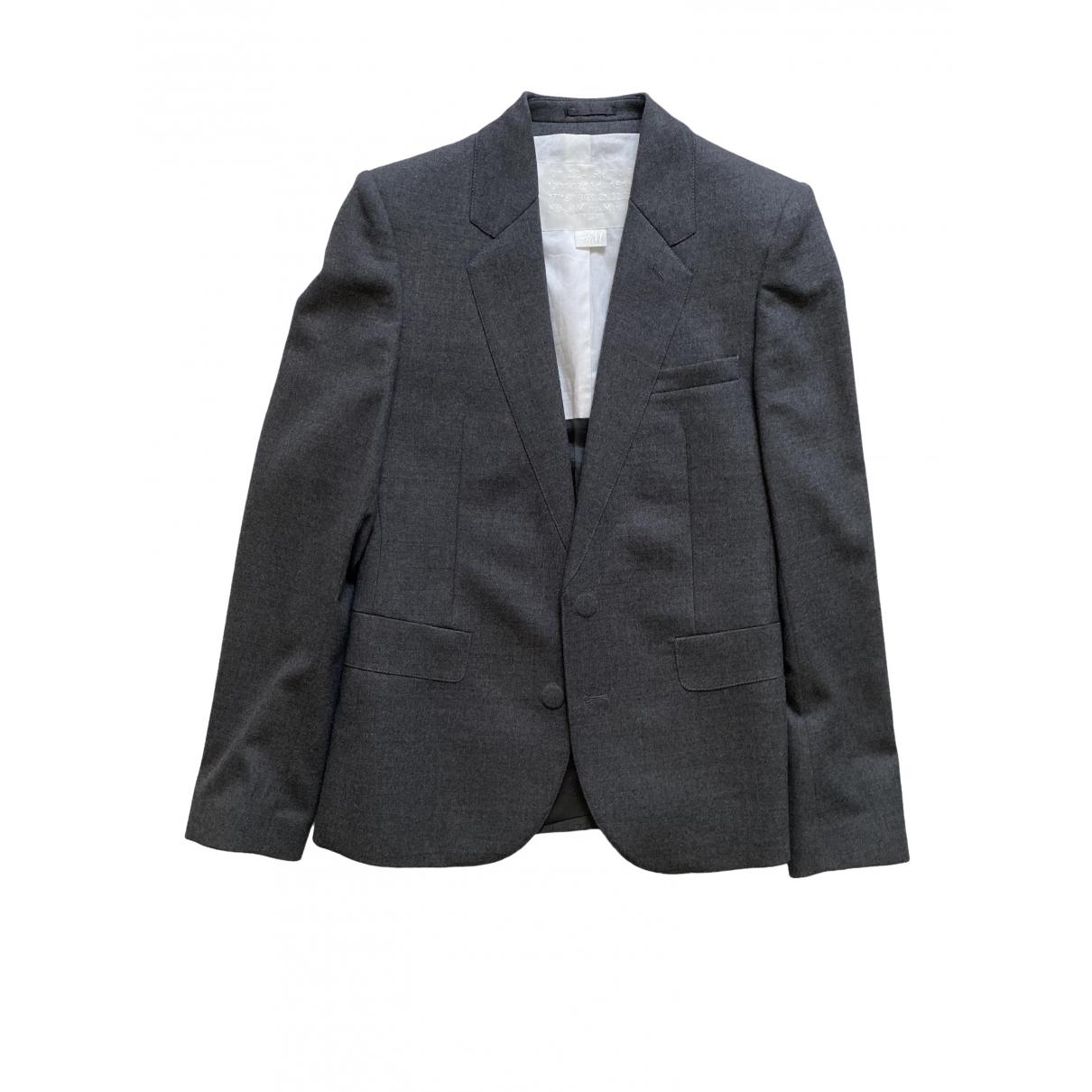 Maison Martin Margiela Pour H&m \N Grey Wool jacket  for Men 46 IT