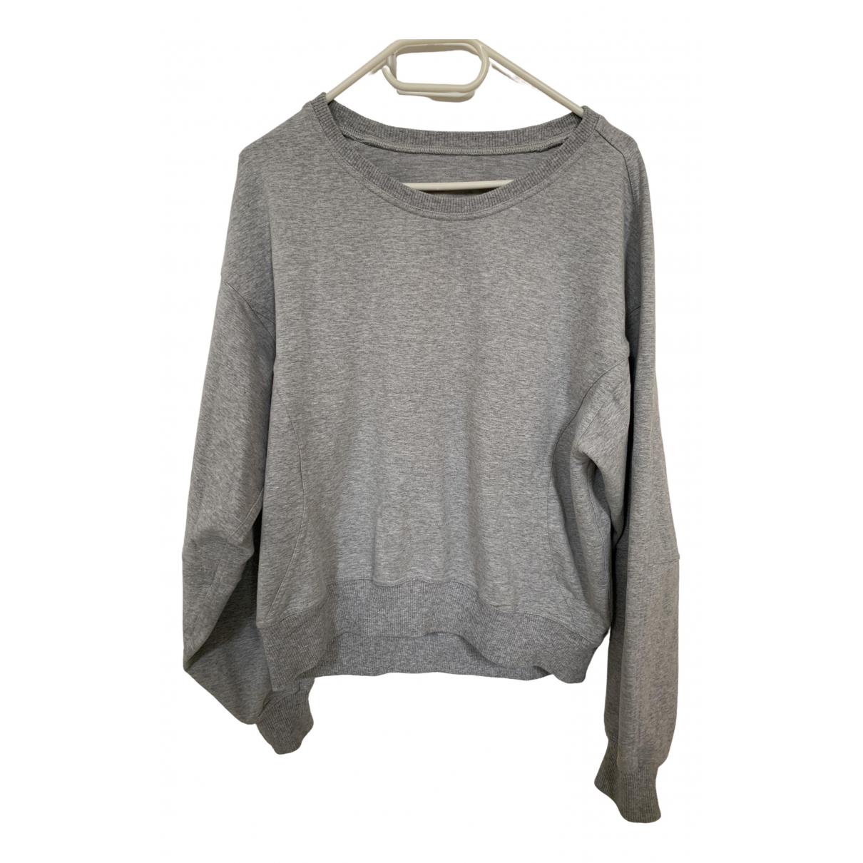 Lululemon \N Grey Cotton Knitwear for Women M International