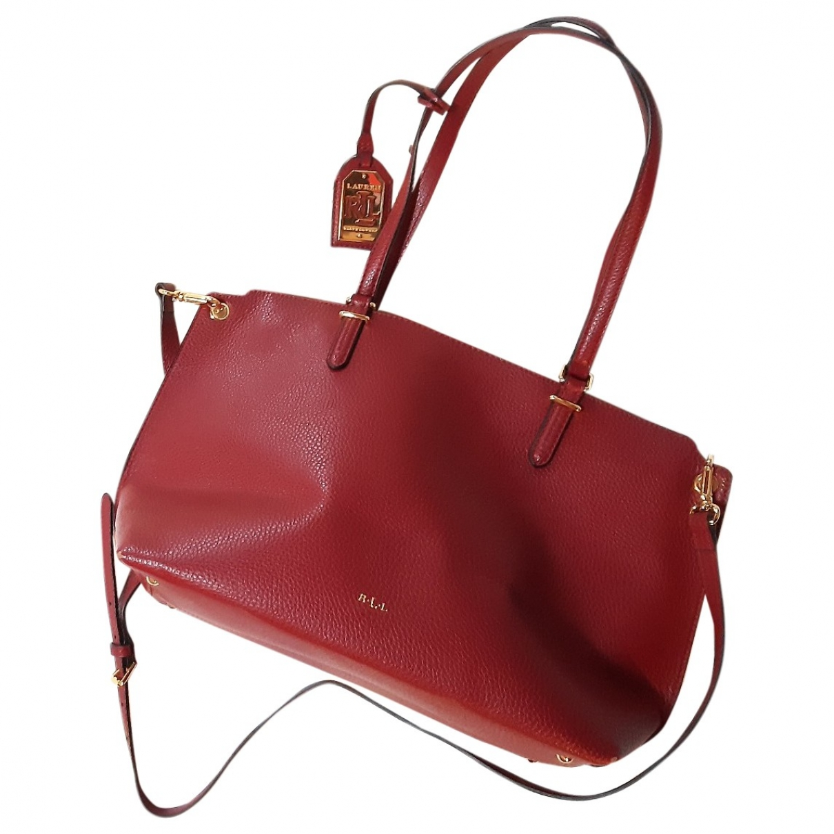 Lauren Ralph Lauren \N Red Leather handbag for Women \N