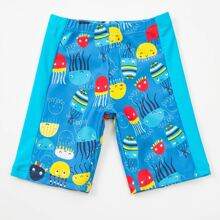 Toddler Boys Cartoon Graphic Swimsuit