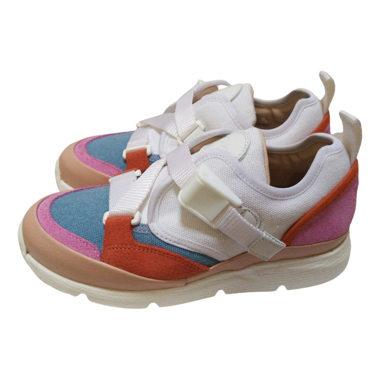 Chloé \N Multicolour Leather Trainers for Kids 30 FR