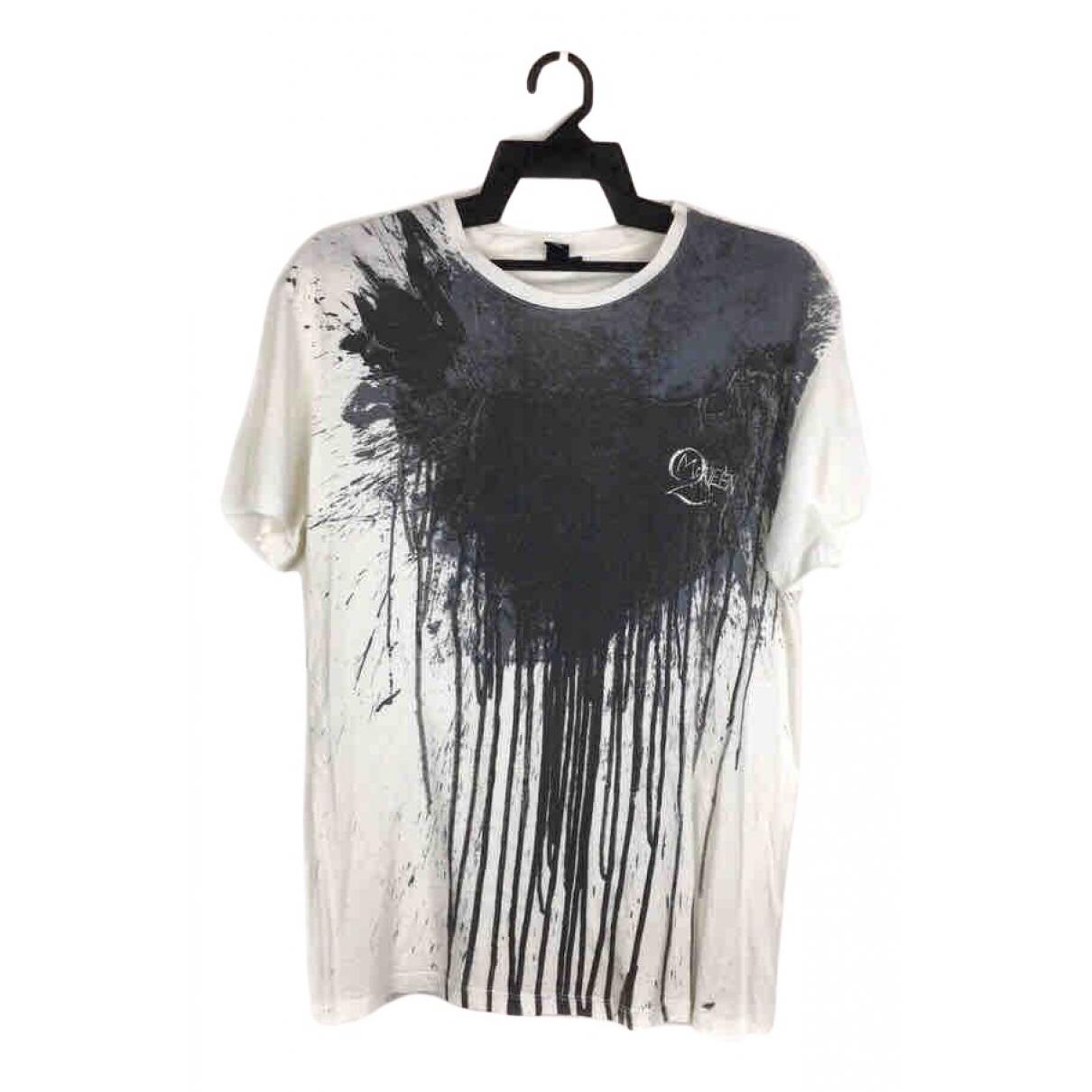 Mcq - Tee shirts   pour homme en coton - blanc