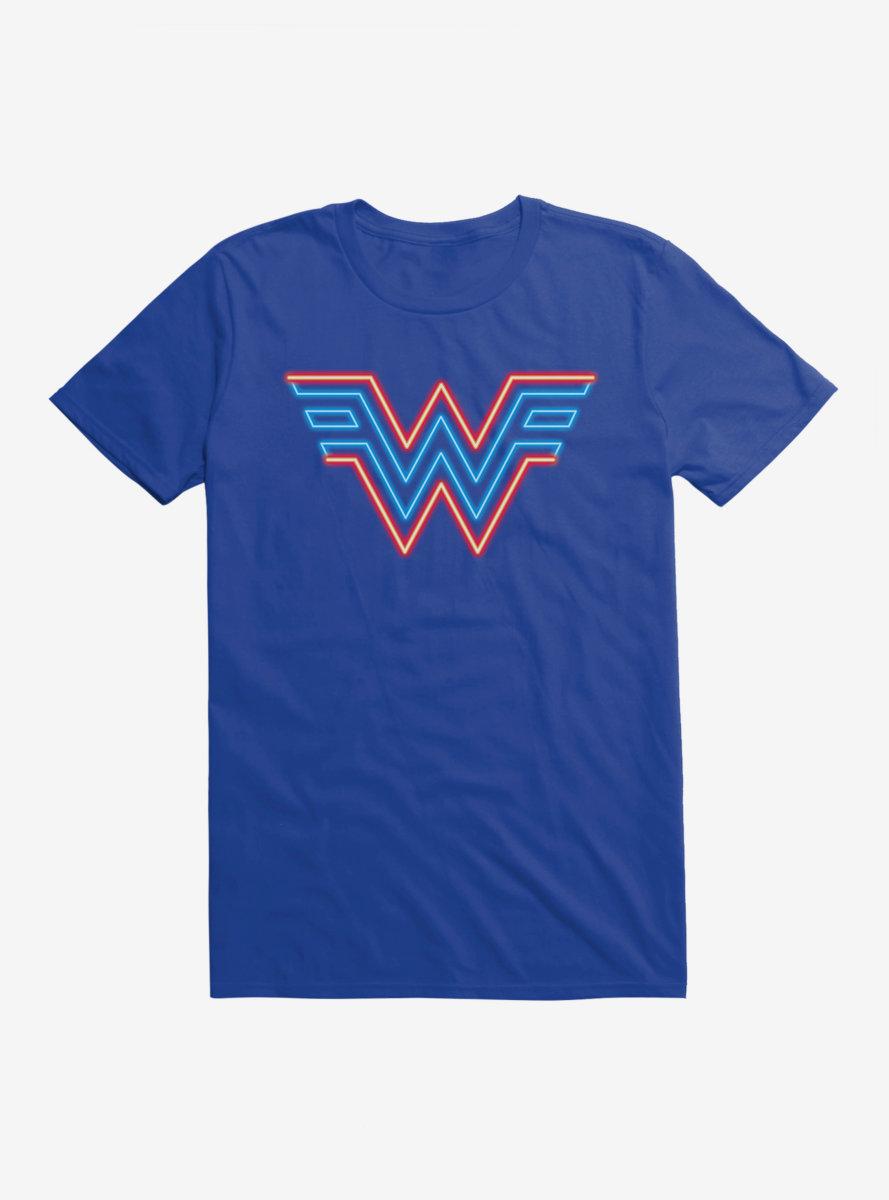 DC Comics Wonder Woman 1984 Neon Logo T-Shirt