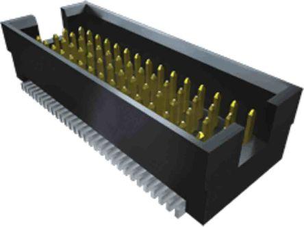 Samtec , TOLC, 80 Way, 4 Row, Straight PCB Header (19)