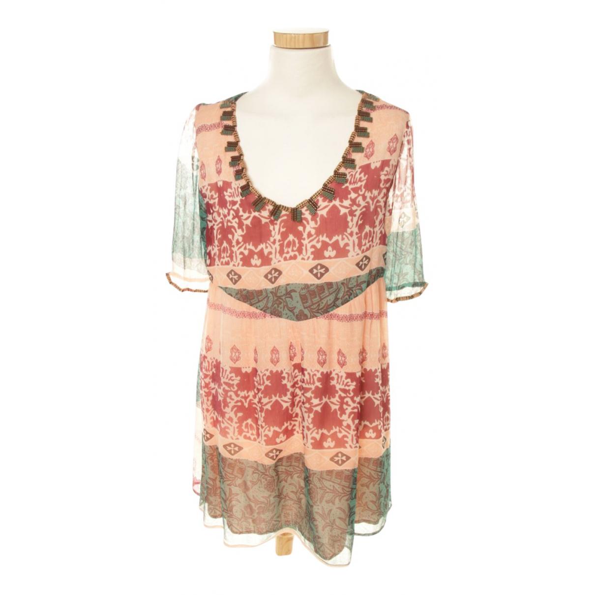 Ambre Et Babzoe - Robe   pour femme en soie - rose
