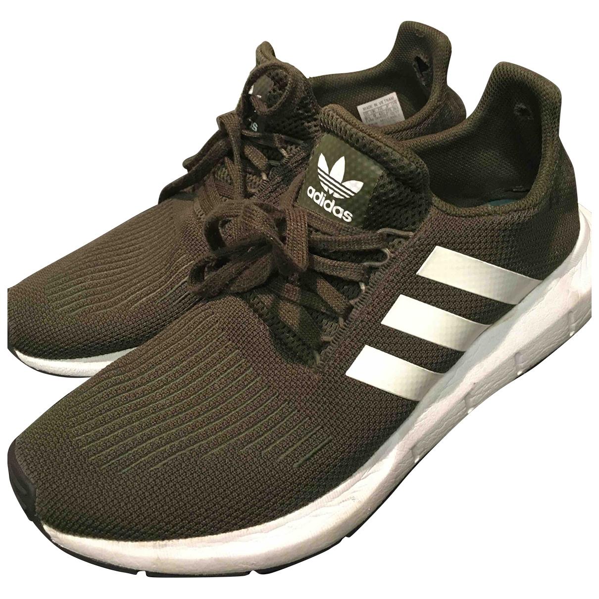 Adidas Ultraboost Sneakers in  Gruen Polyester