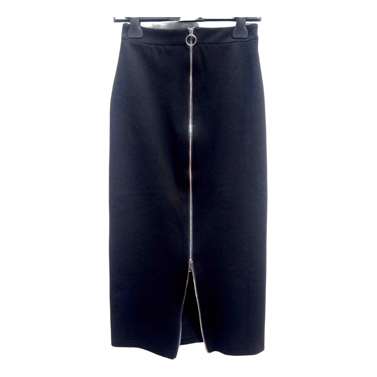 Weili Zheng \N Black Cotton skirt for Women S International