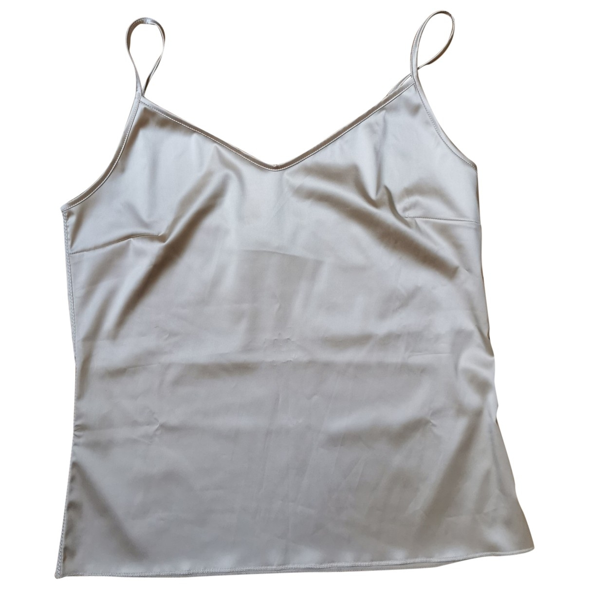 Jean Paul Gaultier \N Top in  Beige Polyester