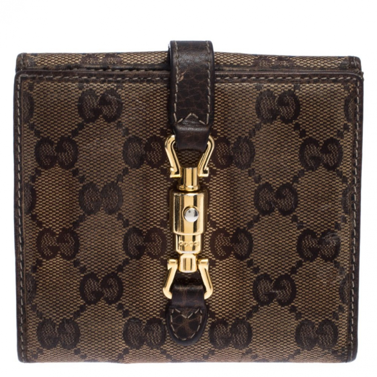 Gucci \N Brown Cloth wallet for Women \N