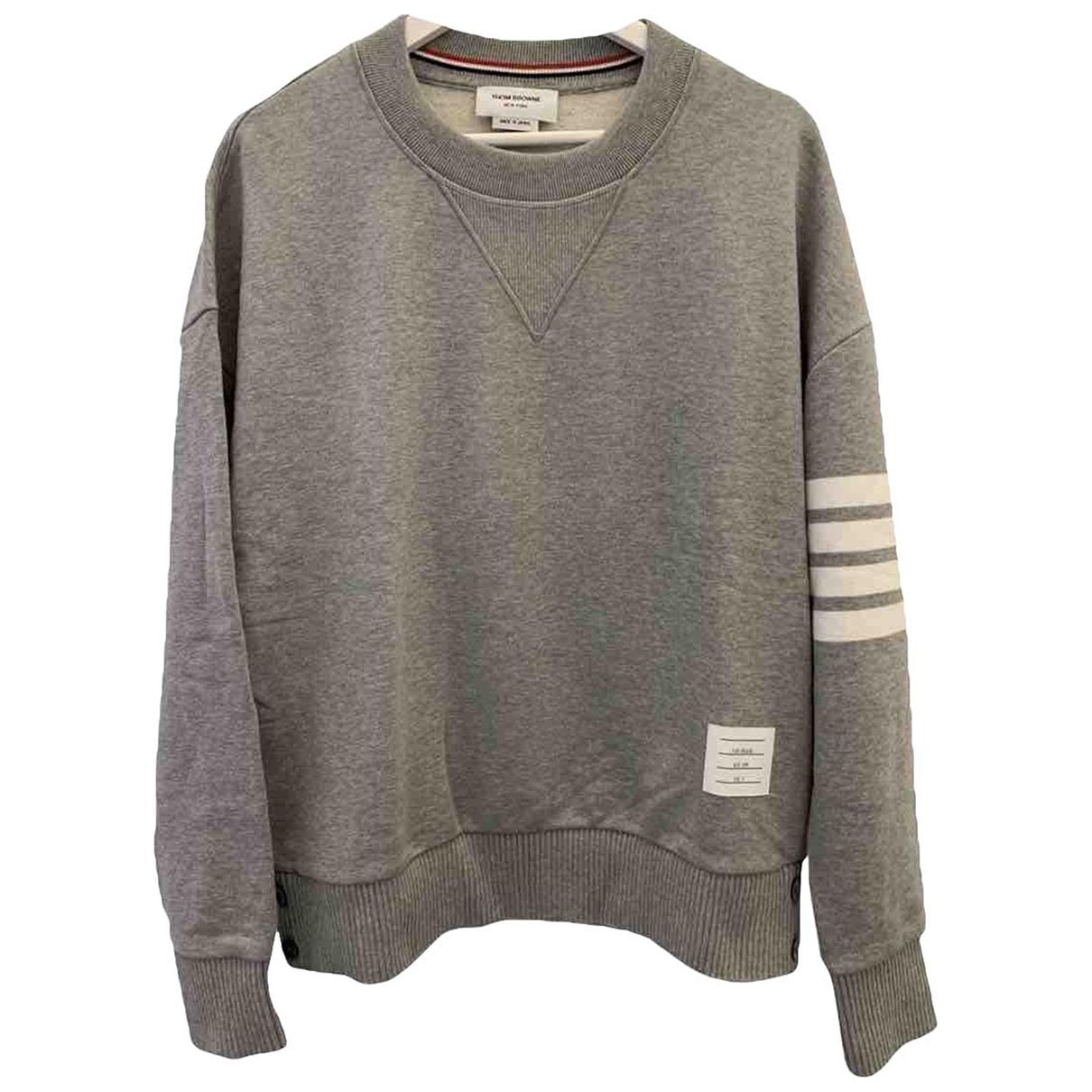Thom Browne - Pulls.Gilets.Sweats   pour homme en coton - gris