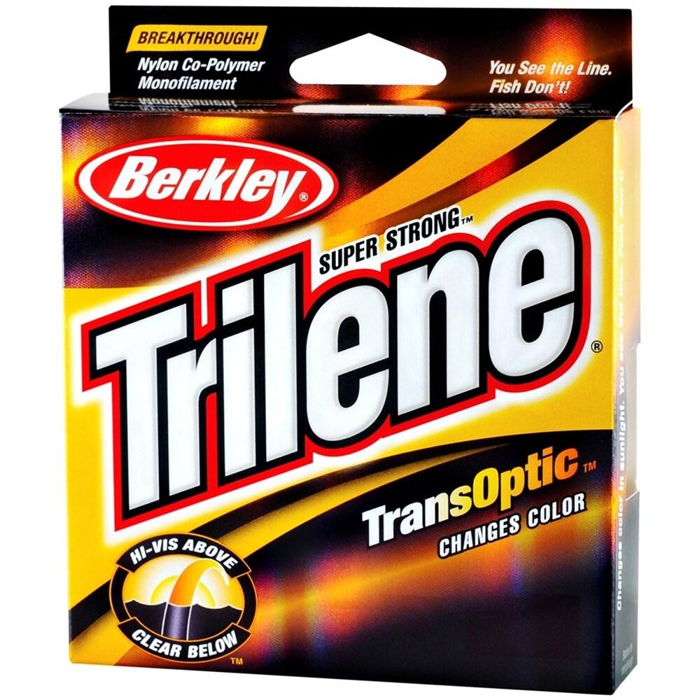 Berkley Trilene TransOptic Fishing Line (220 yds) - Clear/Gold (10 lb. Test)
