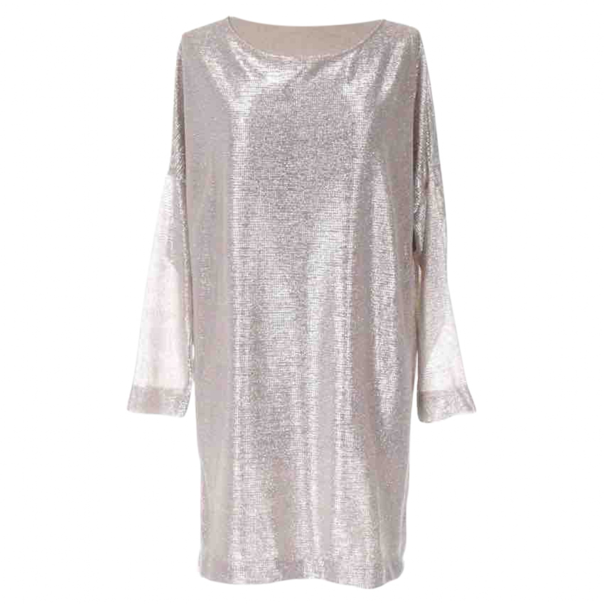 Hôtel Particulier \N Silver Glitter dress for Women 38 FR