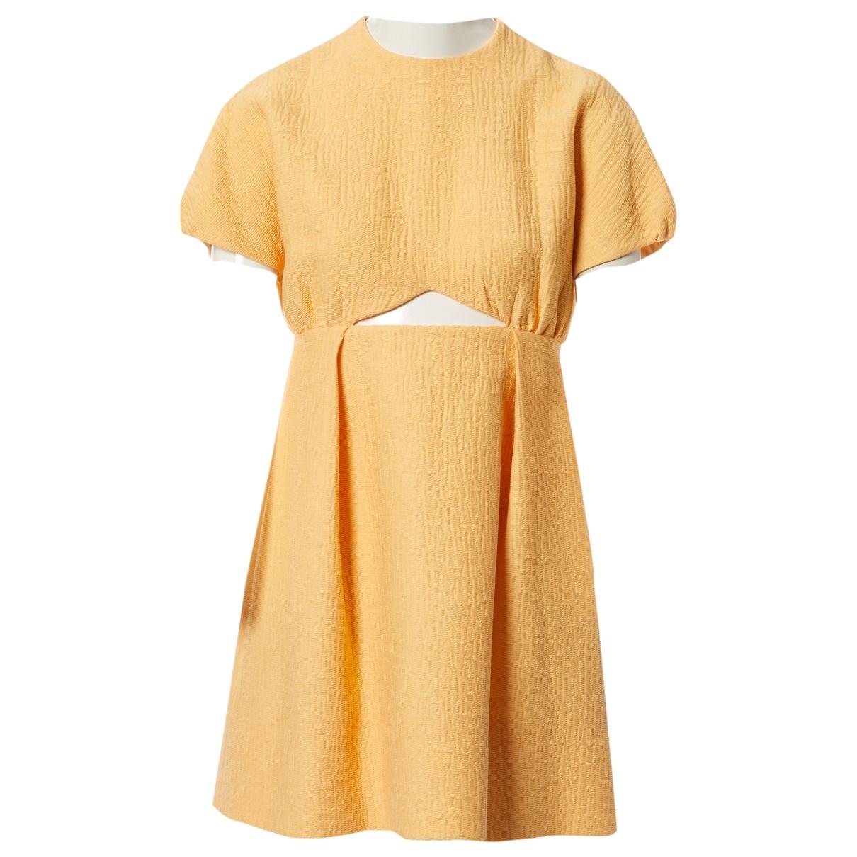 Emilia Wickstead \N Yellow dress for Women 8 UK