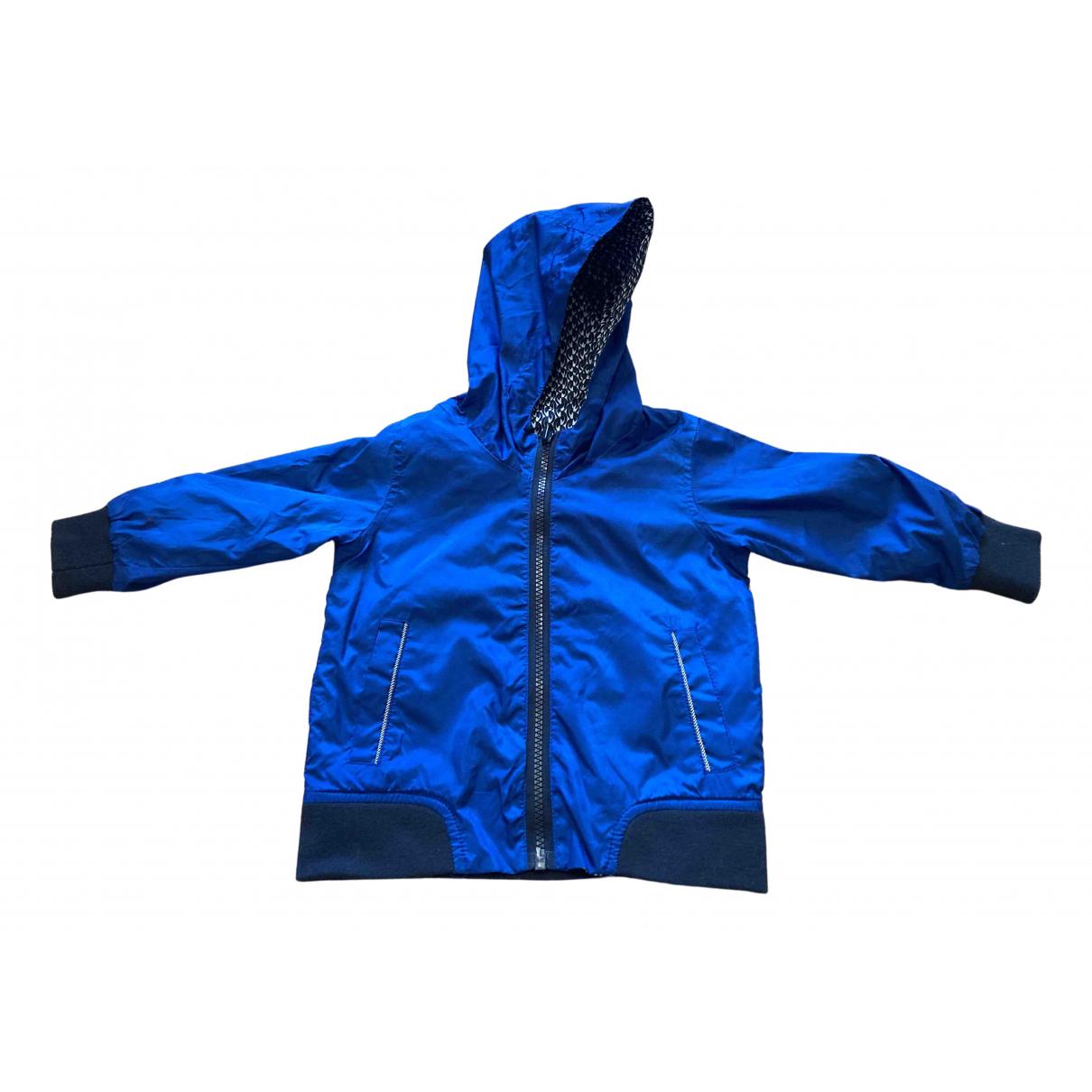 Little Marc Jacobs \N Jacke, Maentel in  Blau Polyester