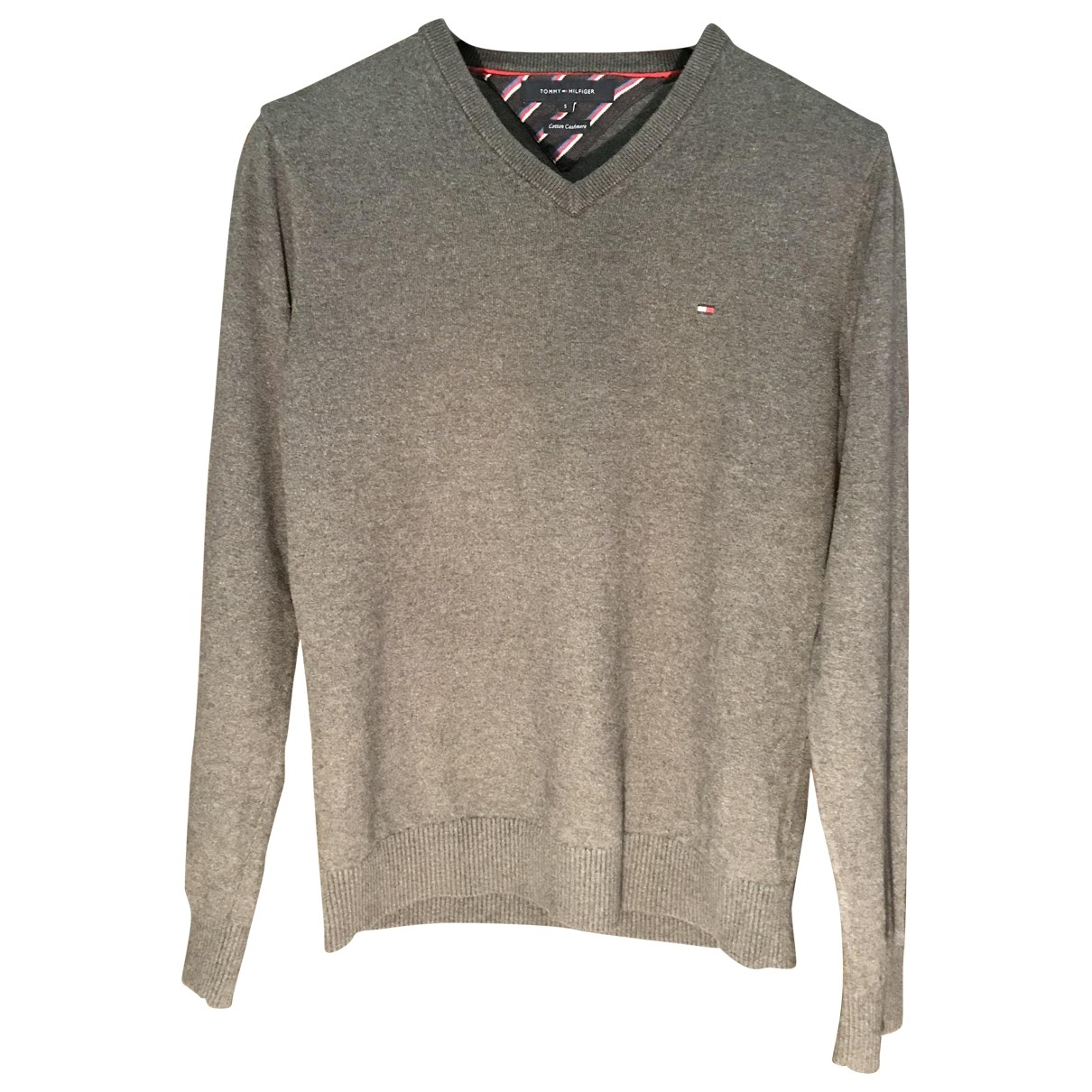 Tommy Hilfiger \N Pullover.Westen.Sweatshirts  in  Anthrazit Kaschmir