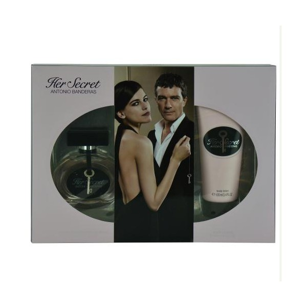 Antonio Banderas - Her Secret : Gift Box Set 2.7 Oz / 80 ml