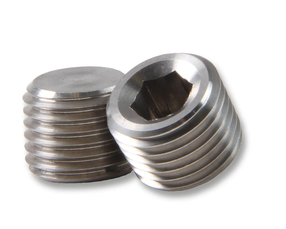 Earl's Performance SS593203ERL 1/4 NPT PLUG STAINLESS STEEL
