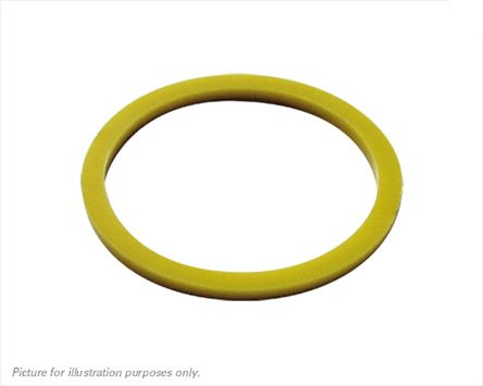 Souriau Yellow Connector Ring,Shell Size 10 (5)