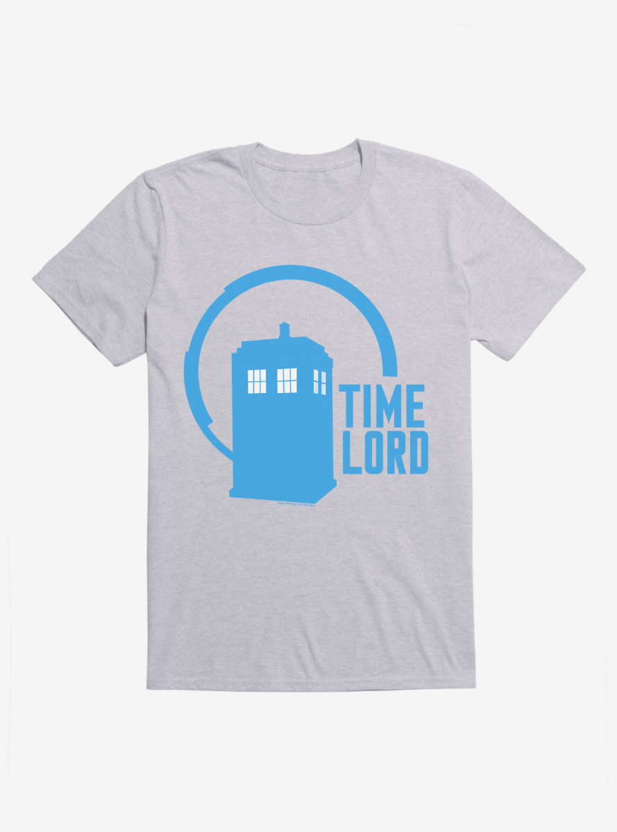 Doctor Who TARDIS Time Lord Icon T-Shirt