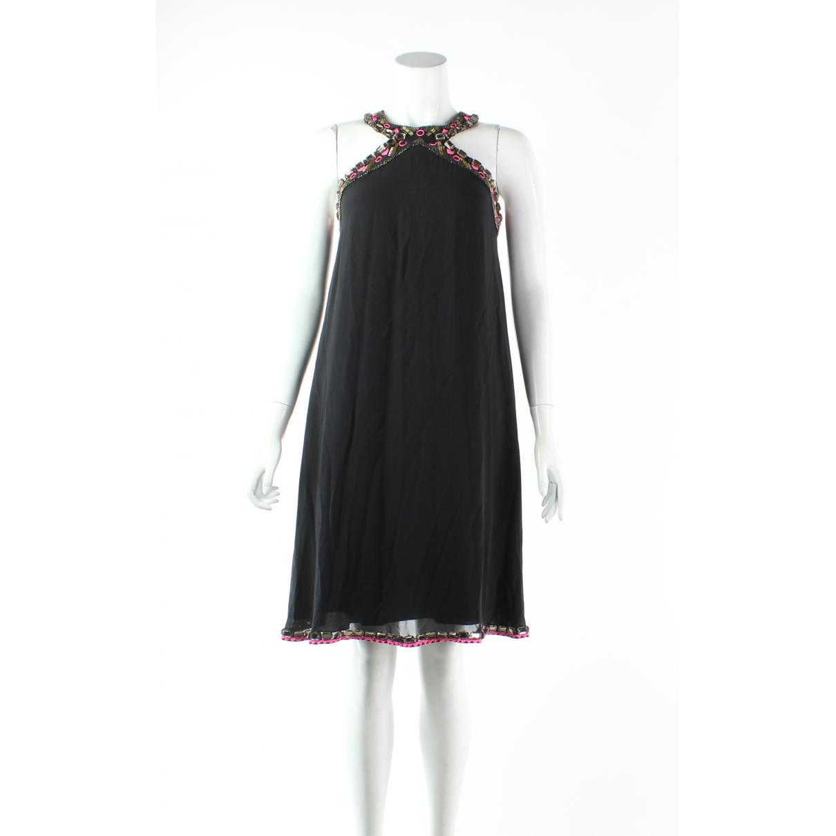 Matthew Williamson \N Kleid in  Schwarz Seide