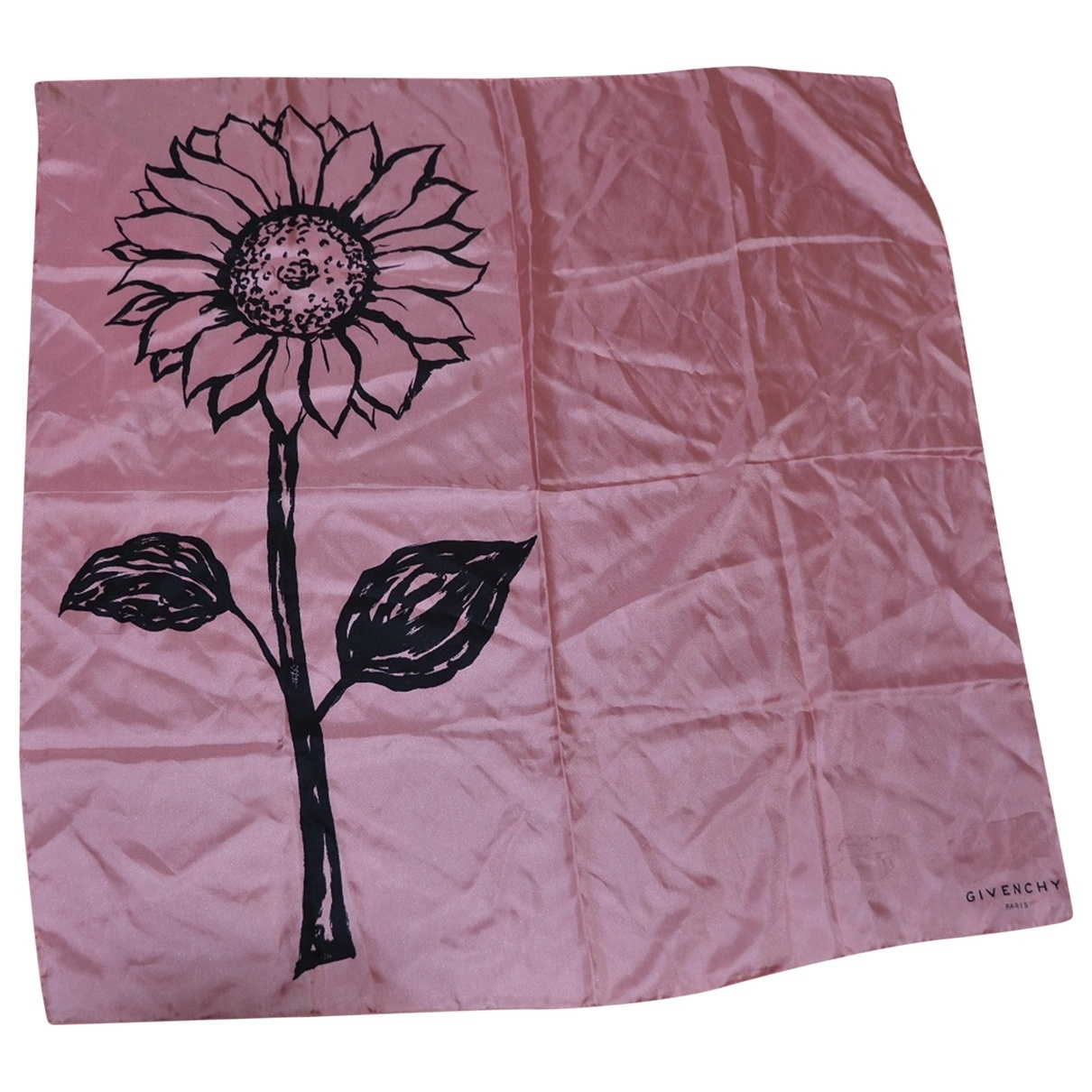 Givenchy \N Schal in  Rosa Seide