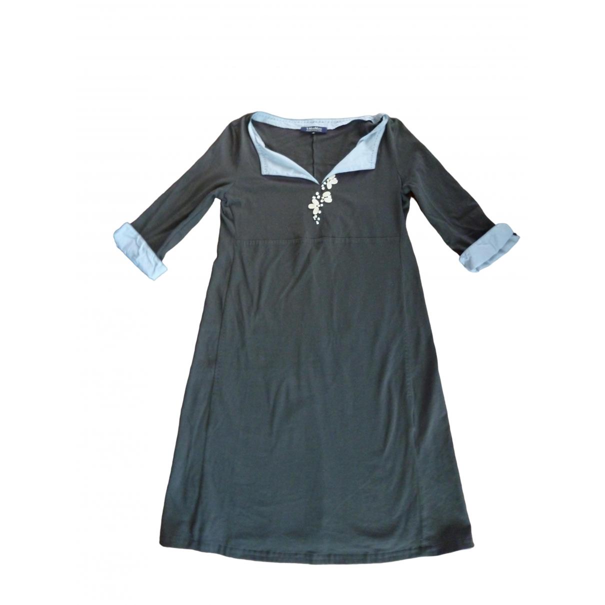 Max Mara s - Robe   pour femme en coton - elasthane - marron
