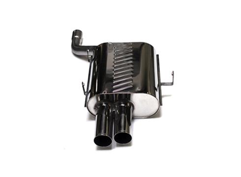 Eisenmann Stainless Axleback Exhaust 2x76mm Round Tips BMW 528i Touring E39 96-00