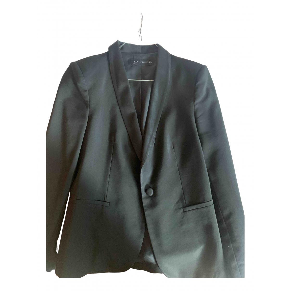 Zara \N Black jacket for Women 36 FR