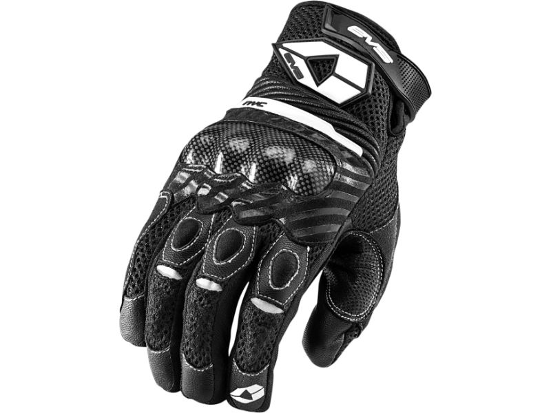 EVS 612104-0103 Black/White NYC Gloves Medium