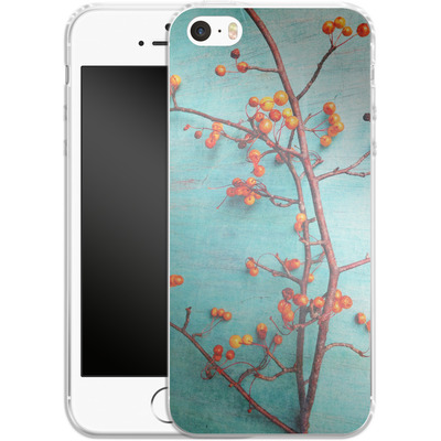 Apple iPhone SE Silikon Handyhuelle - She Hung Her Dreams on Branches von Joy StClaire